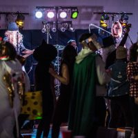 Storm The Palace Big Shiny 90s Halloween Dance Party Retro 80s 90s