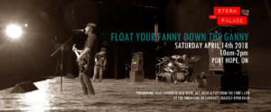 Float Your Fanny Down The Ganny 2018 Port Hope Storm The Palace Retro 80s 90s cover band party toronto