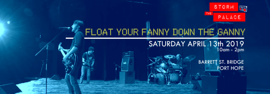 New Wave 1980s 1980's 80s Float Your Fanny Down The Ganny Port Hope 2019 Flood river race Storm The Palace retro 80's cover band toronto party benefit wedding ontario port hope