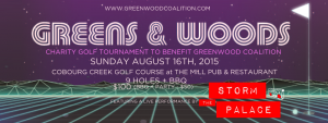Green Wood Coalition Charity Golf Tournament 2015