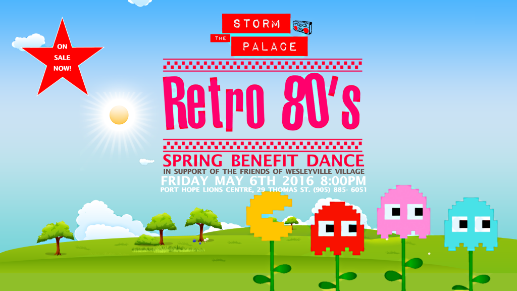 Storm The Palaceretro 80s cover band friends of wesleyville