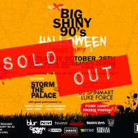 big shiny 90s halloween port hope storm the palace retro 80s 90s party partyband toronto
