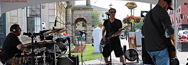Cobourg Food & Music Festival 2019 New Wave 1980s 1980's 80s Storm The Palace retro 80's cover band toronto party benefit wedding ontario port hope It movie Derry Stephen King