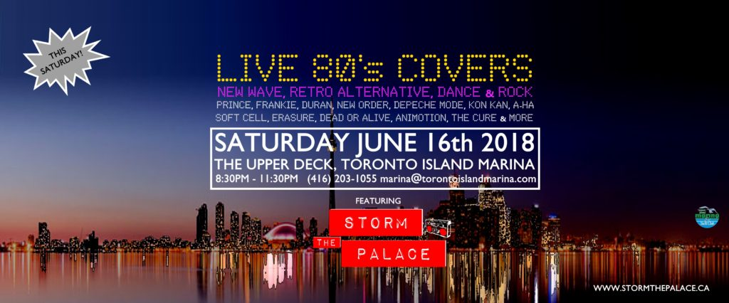 storm the palace 80s 90s retro cover band toronto party