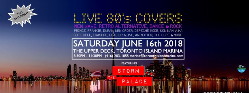 New Wave 1980s 1980's 80s storm the palace 80s 90s retro cover band toronto party